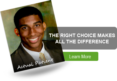 the right choice in an orthodontist Makes All The Difference