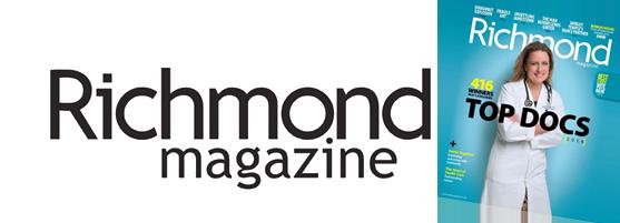 Rated Top Orthodontist Richmond Magazine VA